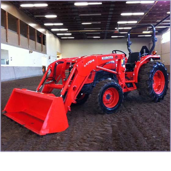 C.A.R.D. Tractor Donation