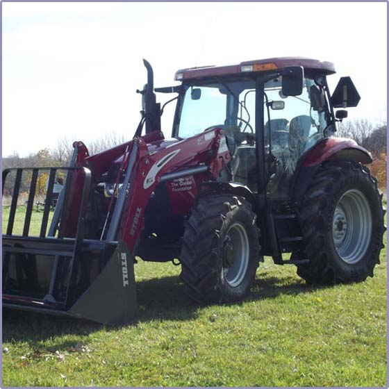Tractor Donated To Hinks Farm - A Retreat For City Youth