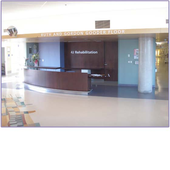 The Ruth & Gordon Gooder Floor at The Trillium Health Centre